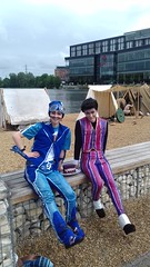 Welcome to Lazytown (Fablesandzombies) Tags: sportacus cosplay robbie rotten lazytown