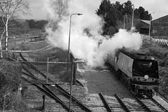 Remain of Furzebrook LPG terminal (David Blandford photography) Tags: 34070 manston swanagerailway dorset furzebrook