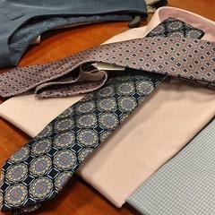 Choices #unconventionalweddingattire #herecomesthegroom #twomoreweeks (Sivyaleah (Elora)) Tags: mens clothing wedding unconventional suit tie