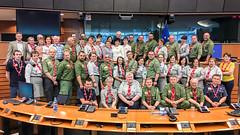 Wizyta harcerzy w Parlamencie Europejskim
