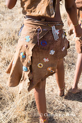 Decorated skirt (10b travelling) Tags: 10btravelling 2016 africa african afrika afrique bushmen carstentenbrink conservancy iptcbasic kalahari khoisan naankuse namibia namibian namibie namibië nyaenyae people places san southwestafrica southwest suidwesafrika südwestafrika windhoek ethnic firstnation group huntergatherer indigenous sanctuary south southern southwestern tenbrink tribe wildlife