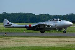C-FJRH (Waterloo Warbirds) (Steelhead 2010) Tags: waterloowarbirds dehavilland dh115 vampire creg cfjrh yhm rcaf 17021