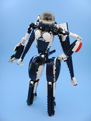 Bluebird / Bayley 004 (E-Why) Tags: lego robot girl fembot gynoid moc mech android jet creator toy