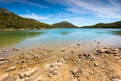 Parc Naturel des Iles Kornati (lac salé de l'ile de Dugi Otok) (G Dubuc) Tags: croatie mer barques églises ruines
