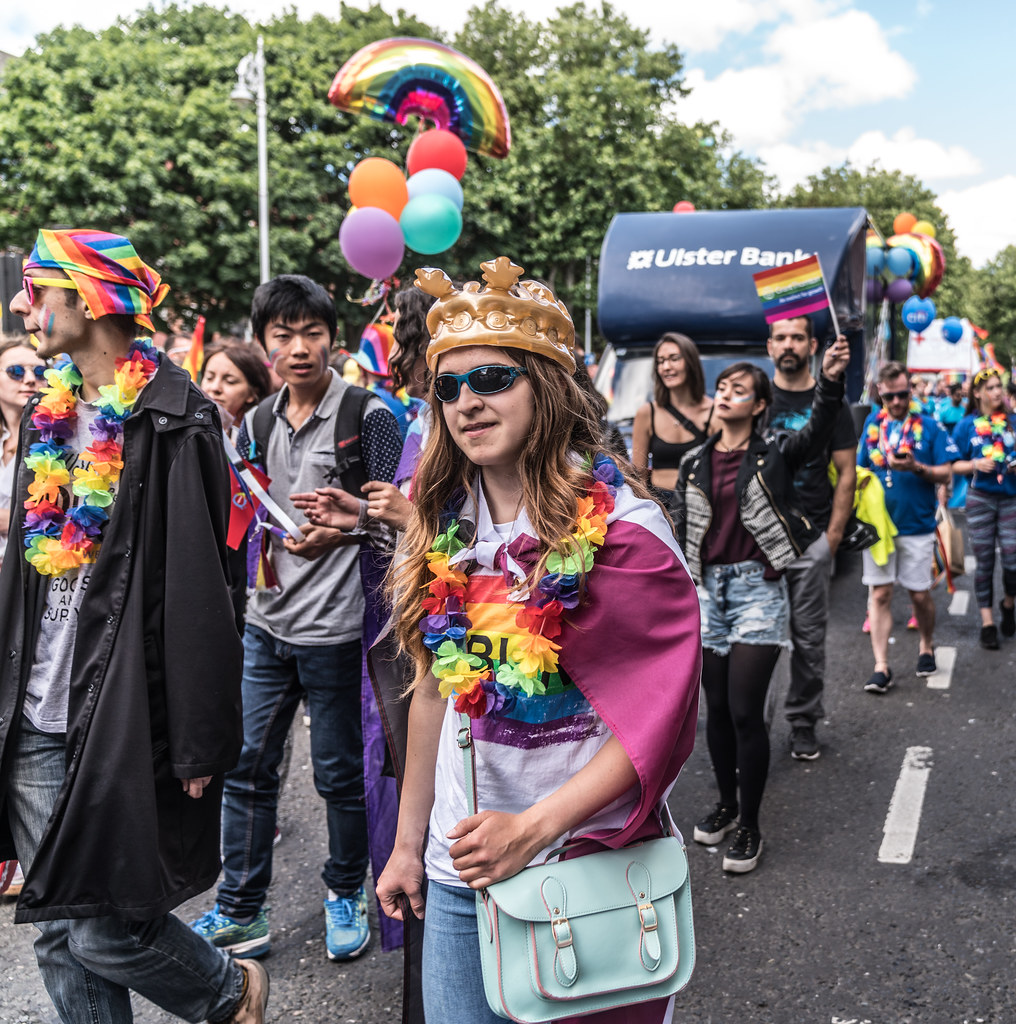 LGBTQ+ PRIDE PARADE 2017 [STEPHENS GREEN BEFORE THE ACTUAL PARADE]-129893