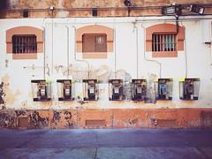 Cabines, C.P LaModel, Barcelona (R_Raluy'S) Tags: presó carcel jail lamodel cabines telephone telefono cabina memorial