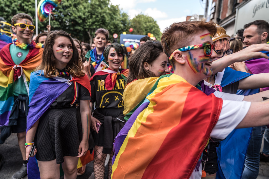 LGBTQ+ PRIDE PARADE 2017 [ON THE WAY FROM STEPHENS GREEN TO SMITHFIELD]-130165