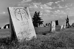 """From """"A Grave Matter"""" (David C. McCormack) Tags: americana antique afterlife blackwhite bw blackandwhite country eos eos6d environment gravemarker grave inspiration midwest monochrome outdoor spiritual rural wisconsin"""
