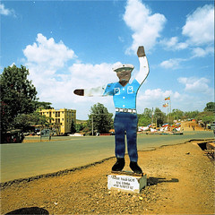jinka (thomasw.) Tags: jinka ethiopia äthiopien africa afrika travel travelpics wanderlust analog cross crossed street mamiya 120 mf