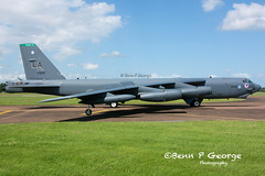 B52H-LA-2BW-DEUCE-60-0002-11-6-17-RAF-FAIRFORD-(4) (Benn P George Photography) Tags: raffairford 11617 bennpgeorgephotography b52h la deuce 600002 2bw letsroll