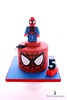 Lego Spiderman Cake (Little Cottage Cupcakes) Tags: littlecottagecupcakes lego spiderman cake legocake spidermancake caketopper sugarpaste fondant superherocake birthday