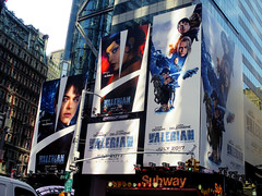 Valerian and the City of a Thousand Planets Billboard Poster 8177 (Brechtbug) Tags: valerian city thousand planets billboard poster times square nyc 2017 french science fiction comics series from 1967 valérian laureline written by pierre christin illustrated jeanclaude mézières film movie directed luc besson new york 07012017