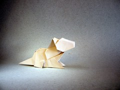 Cat 6 - Edwin Corrie (Rui.Roda) Tags: origami papiroflexia papierfalten chat gato cat 6 edwin corrie