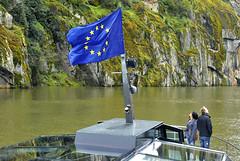 Flag 1 (LBM0) Tags: europeanunion europeanunionflag riverboat tourists