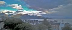 Usuahia (Roberto Ianotti) Tags: usuahia canal beagle argentina sea mar agua azul nubes frio tormenta