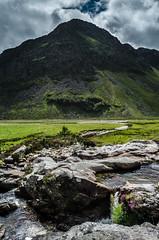 Craig Maskeldie (daedmike) Tags: scotland glenlee lochlee craigmaskeldie cliff mountain pyramid rocky hill hillwalking contrejour rockpool