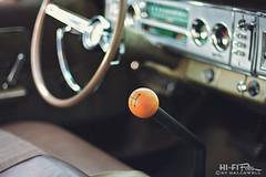 Shifting The Polara (Hi-Fi Fotos) Tags: dodge polara gear shift stick manual interior cockpit controls dash mopar steering wheel vintage american classiccar detail nikkor 5omm 14d nikon d7200 dx hififotos hallewell knob bokeh dof