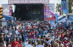 Vancouver Canada 150 (Clayton Perry Photoworks) Tags: vancouver bc canada canadaday canada150 celebration party canadaplace people