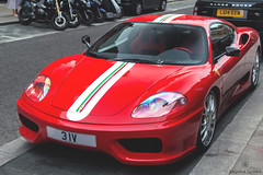 Stradale (Beyond Speed) Tags: ferrari challenge stradale supercar supercars car cars carspotting nikon v8 red stripes limited special edition london mayfair automotive automobili auto