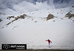 Scenic View Of Snowcapped Mountains Against Sky in Ladakh (arijit mandal) Tags: ladakh jammu kashmir snow scenic view mountains