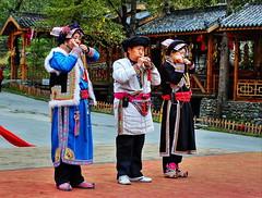 Ethnic Qiang (羌族) (Albert Jafar) Tags: ethnicqiang 羌族 sichuan mouthstringmusicinstrument 四川省 photographerswharf worldtrekker outdoor stphotographia