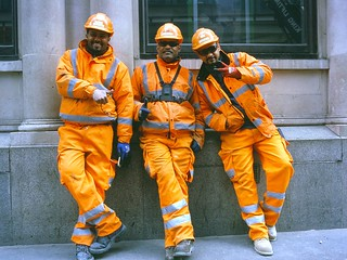 London: Construction Workers