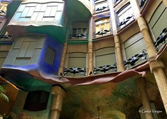 Barcelona (Graça Vargas) Tags: graçavargas ©2017graçavargasallrightsreserved barcelona espanha lapedrera casamilà antonigaudí