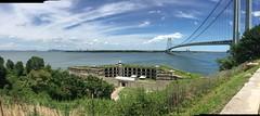 Fort Wadsworth and the Verrazano-Narrows Bridge (Triborough) Tags: ny nyc newyork newyorkcity richmondcounty statenisland fortwadsworth park nationalpark nps nationalparkservice vnb verrazanonarrowsbridge