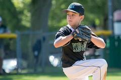 little league (markstrohmjr) Tags: baseball boy uniform pitcher glove hat outside nikon