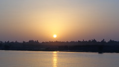Nile Sunset (Rckr88) Tags: nile sunset nilesunset sun sunlight africa travel travelling nileriverupperegypt nileriver upperegypt river upper egypt rivers riverbank water waves wave reflection reflections reflectionsofthenile thenileriver nature outdoors