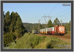 CP 1415 • 20816 • Trancoso • 03.07.2017 (Joao Joaquim) Tags: cp 1415 1400 englishelectric douro porto passageiros especial comboio carruagens diesel