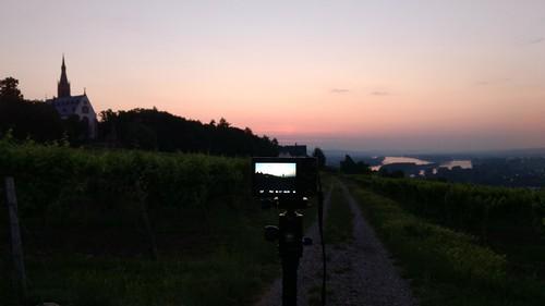Während Du schliefst: Der Entspannende fotografiert den Sonnenaufgang über Rochuskapelle Bingen #12SunriseRhei nhessen