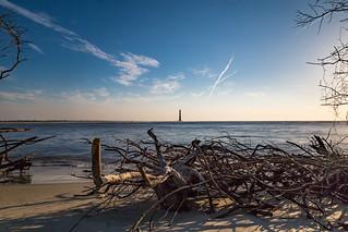 Morris Island Lighthouse 2 Folly Beach, SC