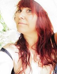 Hello you! (nathaliedunaigre) Tags: selfportrait autoportrait femme woman eilahtan redhair redhead longhair chevelure visage face portrait sunny ensoleillé été summer thanks remerciements naturelle natural