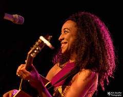 Corinne Bailey Rae @ Showbox at the Market (Kirk Stauffer) Tags: kirk stauffer nikon d5 adorable amazing attractive awesome beautiful beauty charming cute darling fabulous feminine glamour glamorous goddess gorgeous lovable lovely perfect petite precious pretty siren stunning sweet wonderful young female girl lady woman women live music tour concert show stage gig song sing singer vocals performer musician band lights lighting indie soul rb jazz long brown hair brunette wavy curly eyes red lips model tall fashion style portrait smiling playing acoustic guitar english british