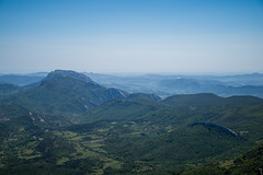 Sharp Ridges (Ville Nikula) Tags: france blue vaellus pyrenees hiking mountains green vuori bugarach vuoristo mountain