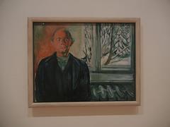 DSCN9061 _ Self-Portrait by the Window, ca. 1940, Edvard Munch, SFMOMA (Matthew Felix Sun) Tags: sanfrancisco sfmoma museum munch edvardmunch exhibition july 2017 betweentheclockandthebed