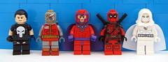 Marvel Anti-Heroes (Korto73) Tags: ko custom muddyriver phoenix bricks leyile