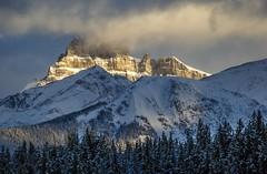 Near Lake Louise (Alberta, Canada) (peterwaller) Tags: lakelouise alberta canada canadianrockies rockymountains daybreak