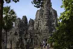 Bayon (Darren Poun) Tags: bayon angkorthom angkor siemreap cambodia southeastasia southgate religion temple monument relic nikon d800 d800e nikkor70200mm f28