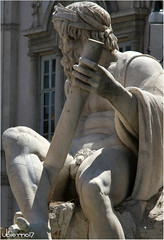Piazza Navona (Ubierno) Tags: roma rome italy italia europa europe art arte piazzanavona plazanavona plaza piazza navona santa agnese fontana bernini borromini ubierno