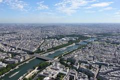Seine @ Summit @ Eiffel Tower @ Paris