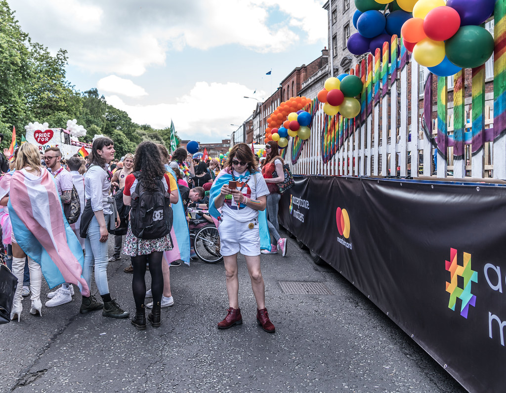LGBTQ+ PRIDE PARADE 2017 [STEPHENS GREEN BEFORE THE ACTUAL PARADE]-129899