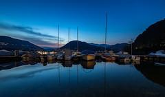 Ora Blu (iLaura_) Tags: lake lago ceresio pontetresa orablu