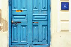 Casa Nena (emerge13) Tags: centrohabanacuba cuba havana lahavane doors simplistic habana portes architecturaldetails architecturalheritage architecture puertas textures blue