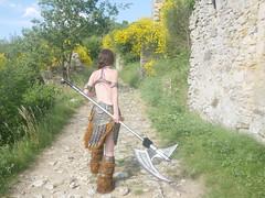 Shooting Skyrim - Ruines d'Allan -2017-06-03- P2090588 (styeb) Tags: shoot shooting skyrim allan ruine village drome montelimar 2017 juin 06 cosplay