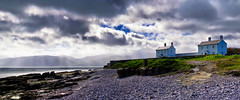 Penmon Cottage (Solent Poster) Tags: penmon lighthouse cottages menai strait wales snowdonia crepuscular rays pentaxt k1 2470mm anglesey