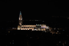 Cathedral Primada Toledo IV (rschnaible) Tags: cathedral primada toledo spain espana europe sightseeing tour tourist building architecture old history historic city cityscape view night photography long exposure