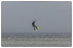 Kite surfer (michael_hamburg69) Tags: schleswigholstein germany deutschland ostsee balticsea beach strand laboe diesonnenseitederkielerförde kitesurfen kite surfer kitesurfing