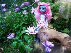 (Linayum) Tags: monsterhigh monster mh mouscedesking doll dolls muñeca muñecas toys juguetes flowers flores spring cute linayum